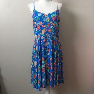 Old Navy Floral Bird Patterned Dress